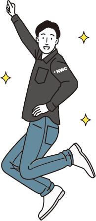 NWCとは「NEW CHALLENGE」の略称